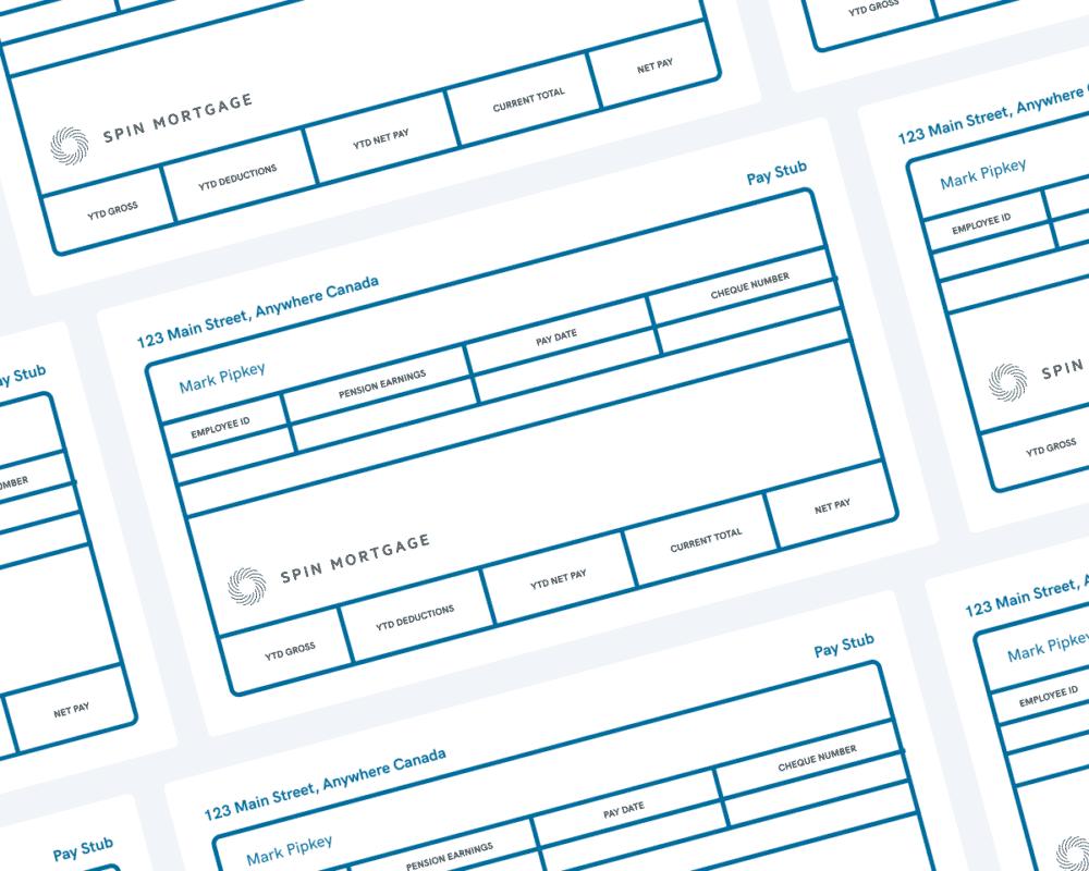 Pay Stub Sample Document